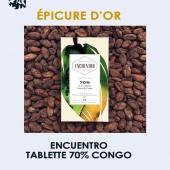 Oups 😬 j'ai oublié la photo pour le prix Epicure de @chocolatencuentro ! Celle-ci, par exemple, est déjà sur les rayons 😋   https://www.boutique-laurent.fr/confiserie-chocolat/1518-tablette-chocolat-rd-congo-70-bio-75g.html  #épiceriefine #gourmet #chocolat