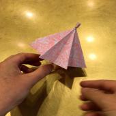 Inspiration #origami du jour ! L'avantage : ça pourra faire office de parasol dès demain ☂️ ⛱  Passez un bon week end ! #moncoeurvalence #valence #villedevalence #valenceromansagglo #valenceromanstourisme #drôme #ardèche #épiceriefine #gourmet #prenezsoindevous💖